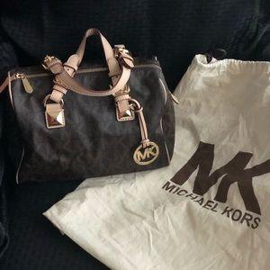 Like new Michael Kors satchel